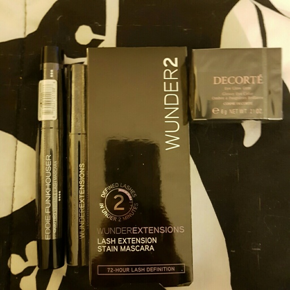 2a28e331275 Decorte Makeup   Mascara Eye Shadow Lot Wunder Eddie F   Poshmark